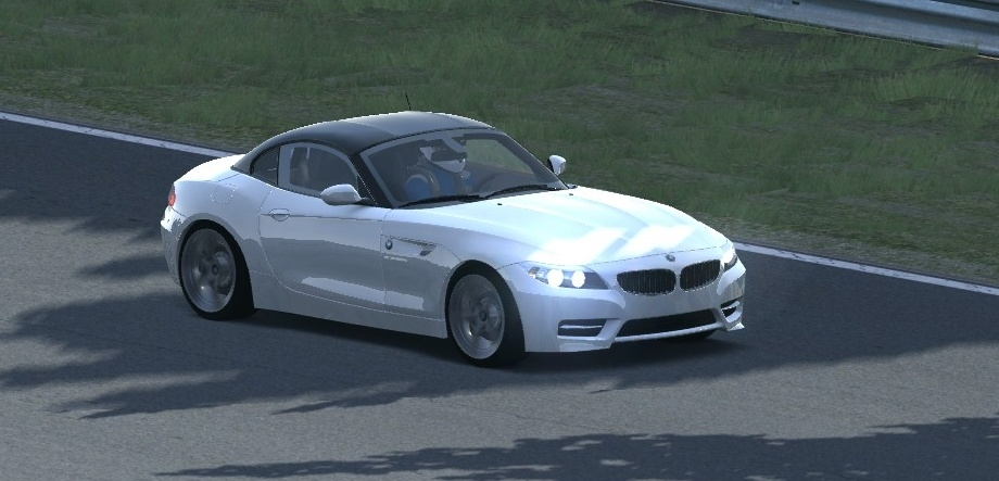 Z4 Alpine white-black top