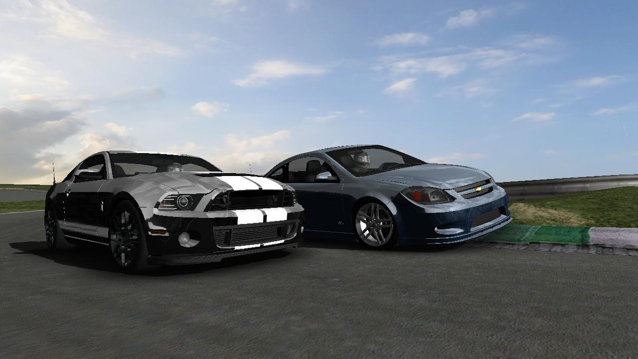 rFactor 2013 Mustang GT500 & 2009 Cobalt SS