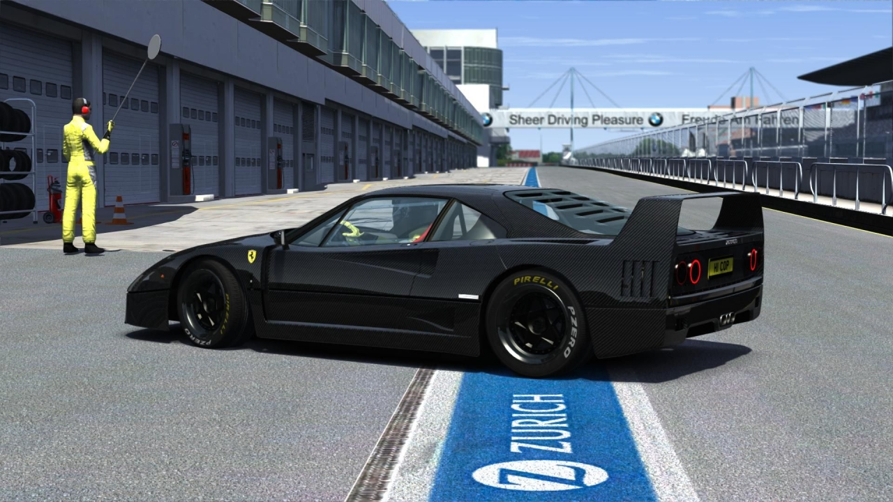Ferrari F40 carbon black