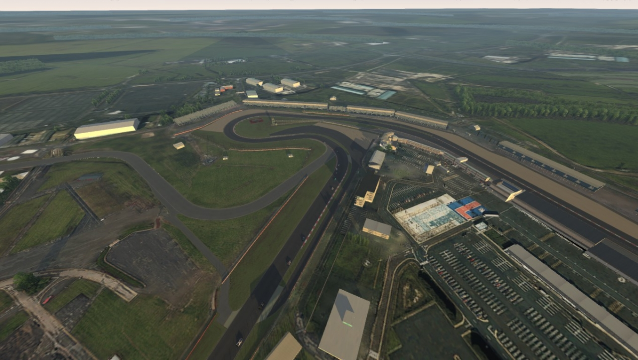 Silverstone Heli view
