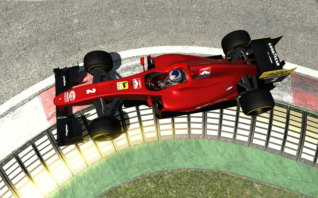 It looks so right at Imola