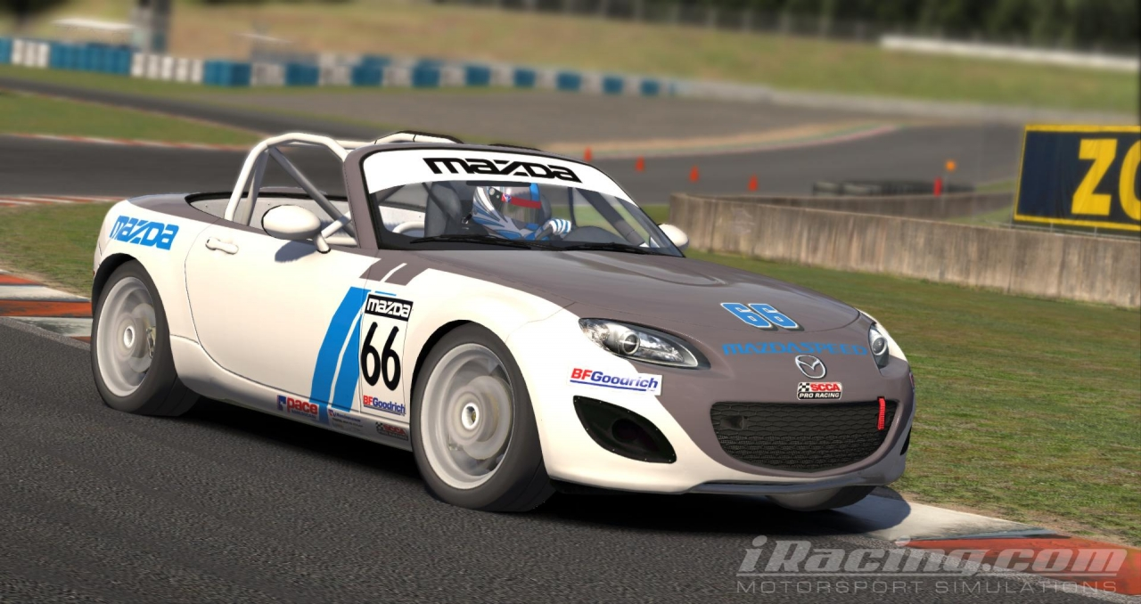 iRacing - Mazda MX 5 Cup @ Okayama International Circuit