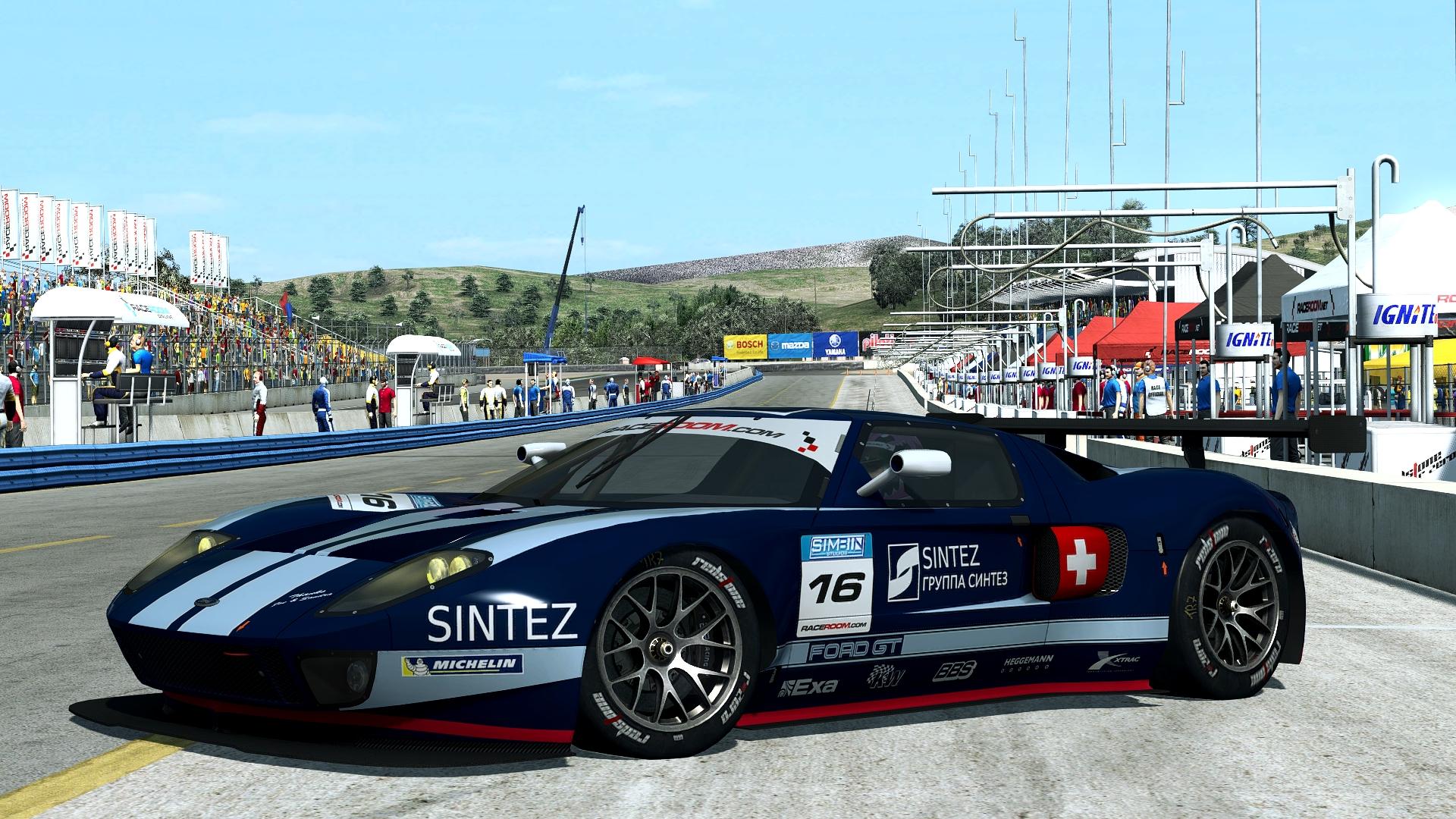 Ford GT GT1 - Laguna Seca