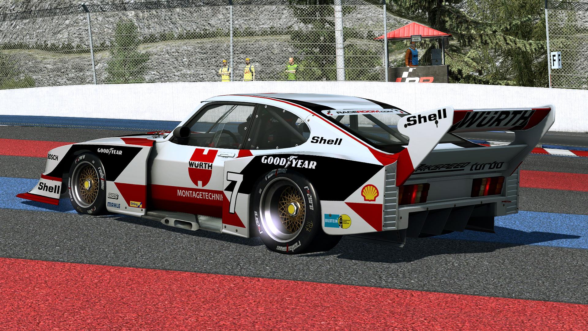 Ford Capri Gr.5 - R3E Raceway