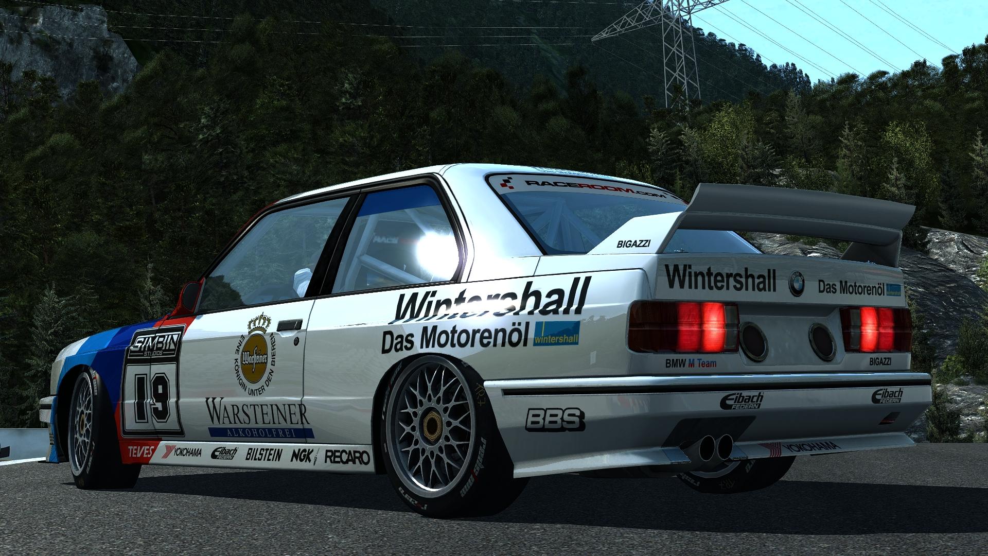 Bmw M3 E30 Gr.A - R3E Raceway
