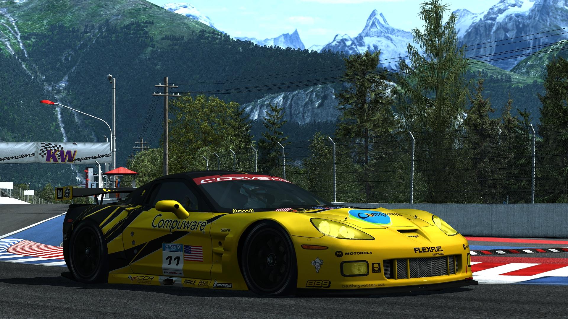 Corvette C6R GT2 - R3E Raceway