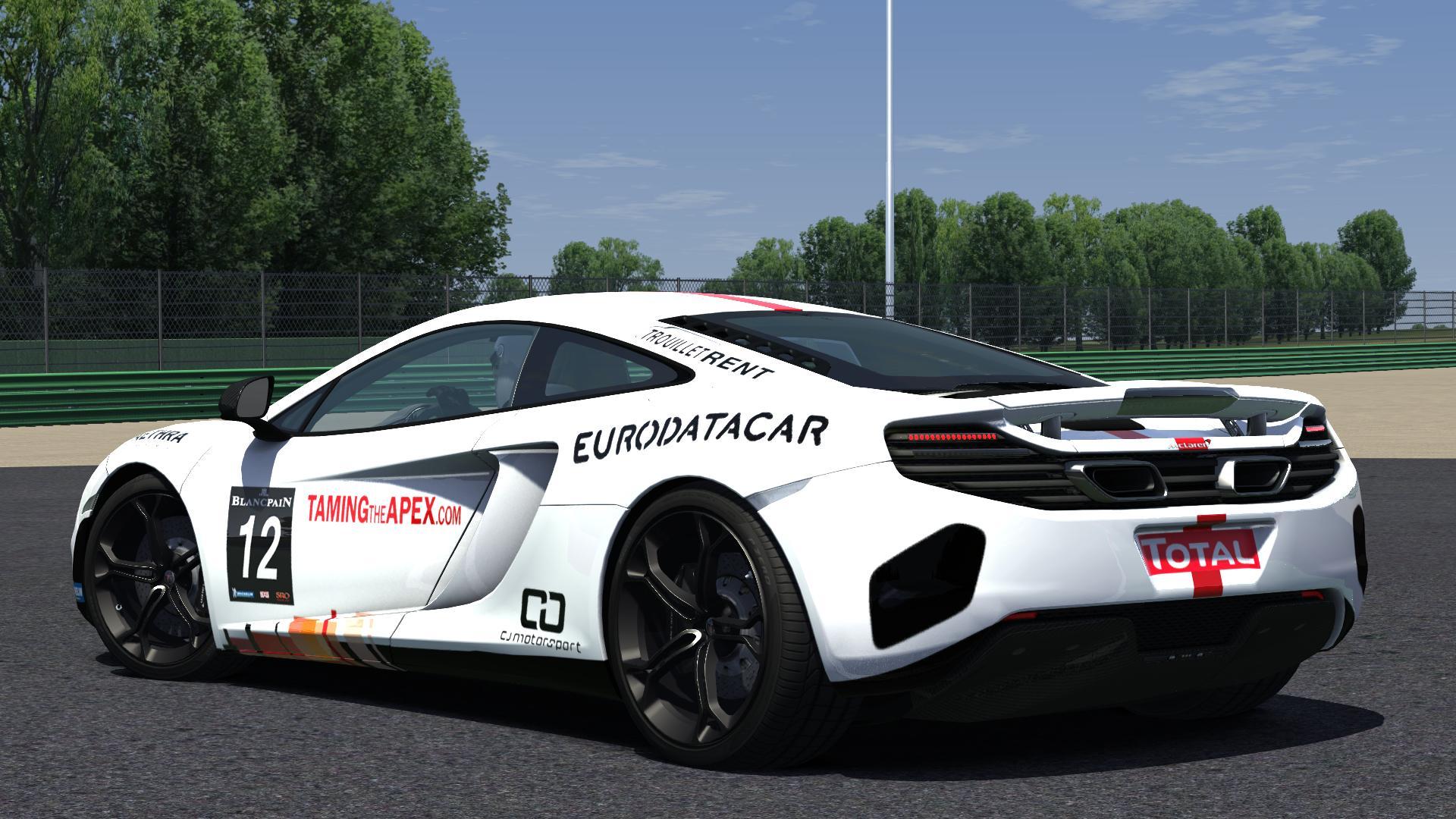 McLaren 12C - Vallelunga