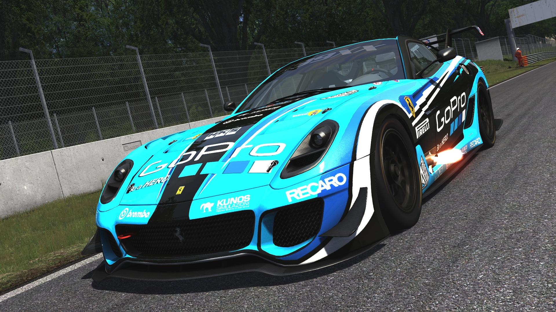 Ferrari 599XX - Monza