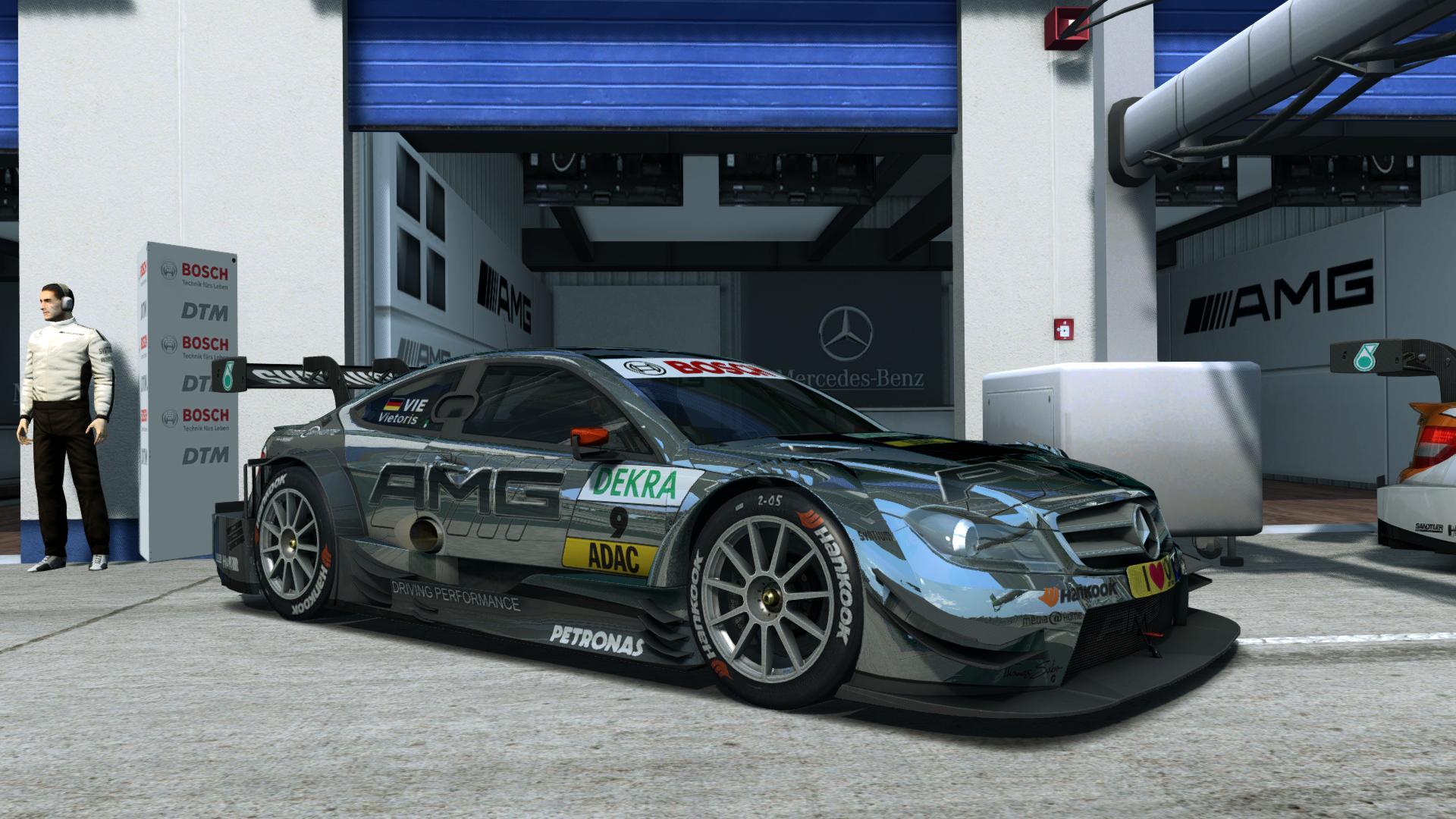 Mercedes AMG DTM - Oschersleben
