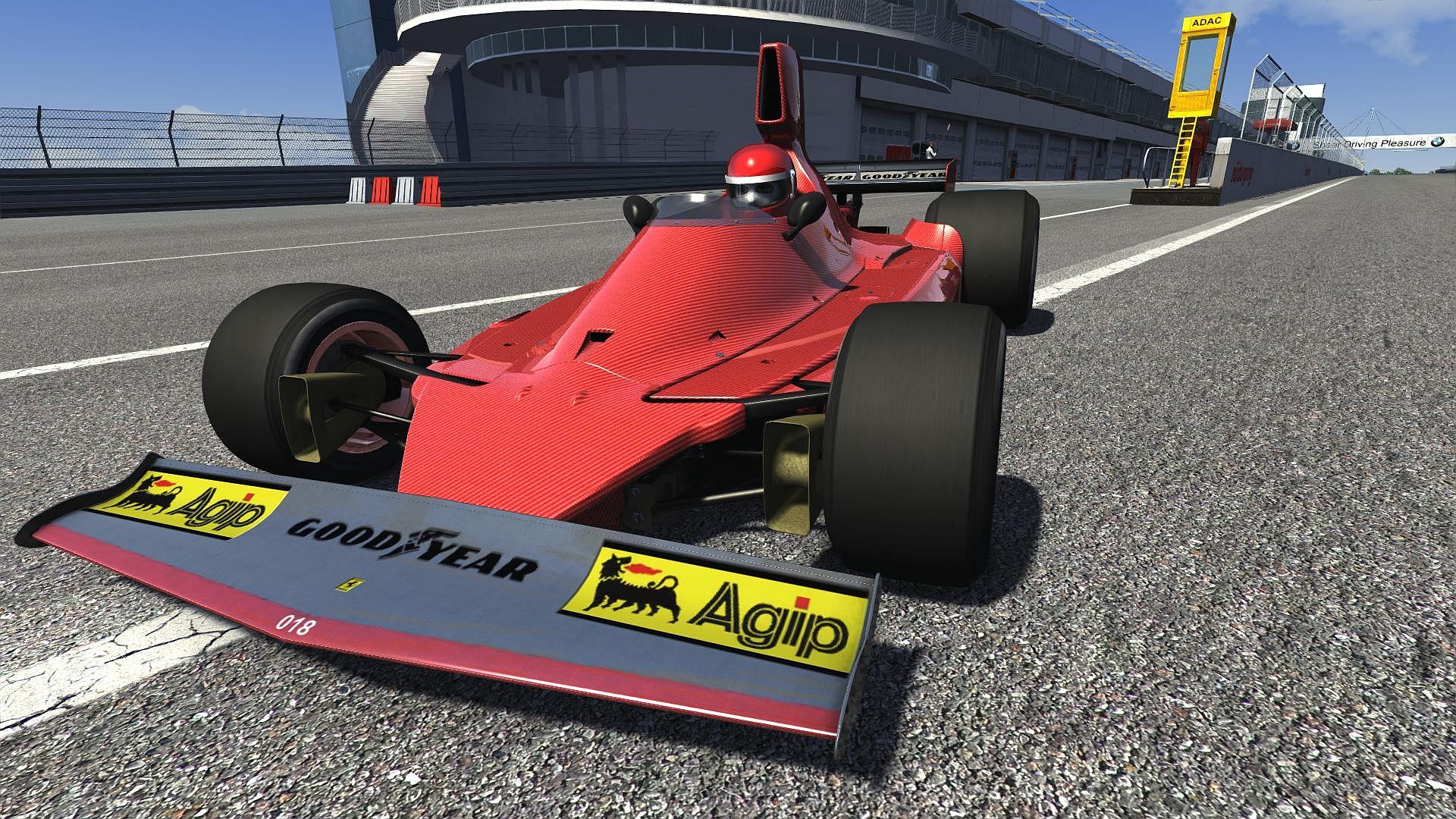 custom red rocket