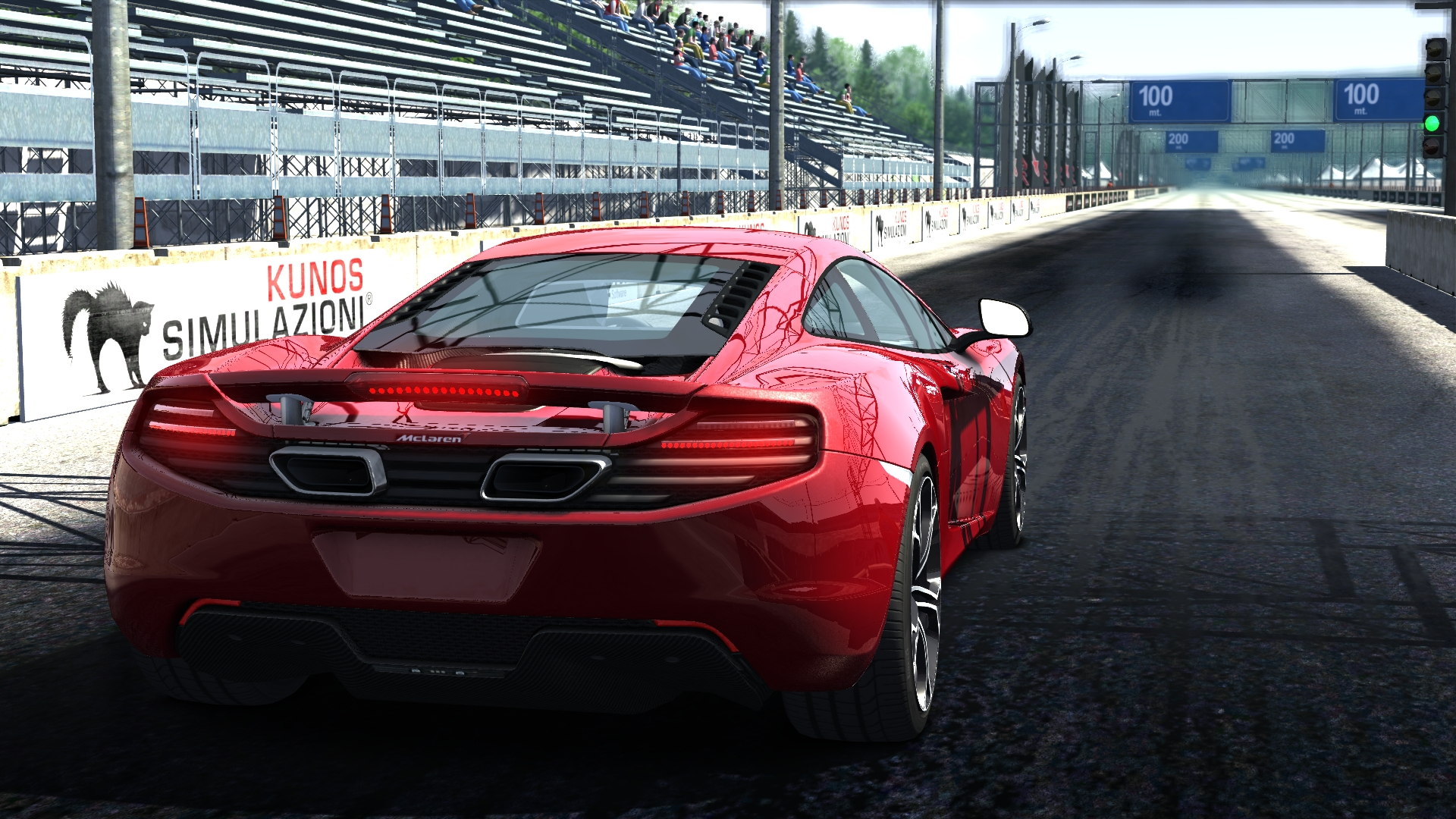 McLaren 12C @ Dragstrip ^^