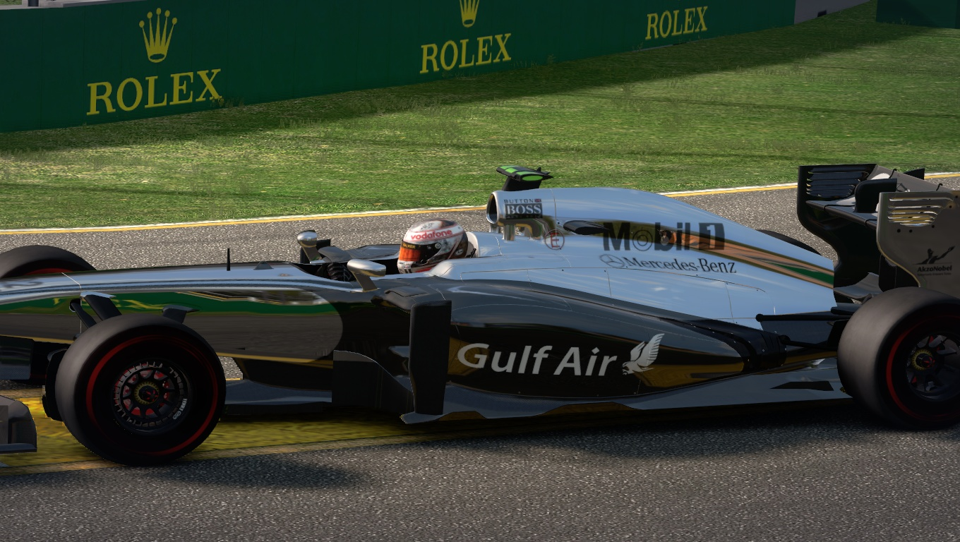 McLaren MP4-29 2014 GP Bahrain Gulf Air By DanHerz 3