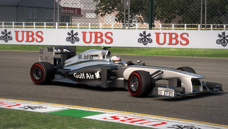 McLaren MP4-29 2014 GP Bahrain Gulf Air By DanHerz 6