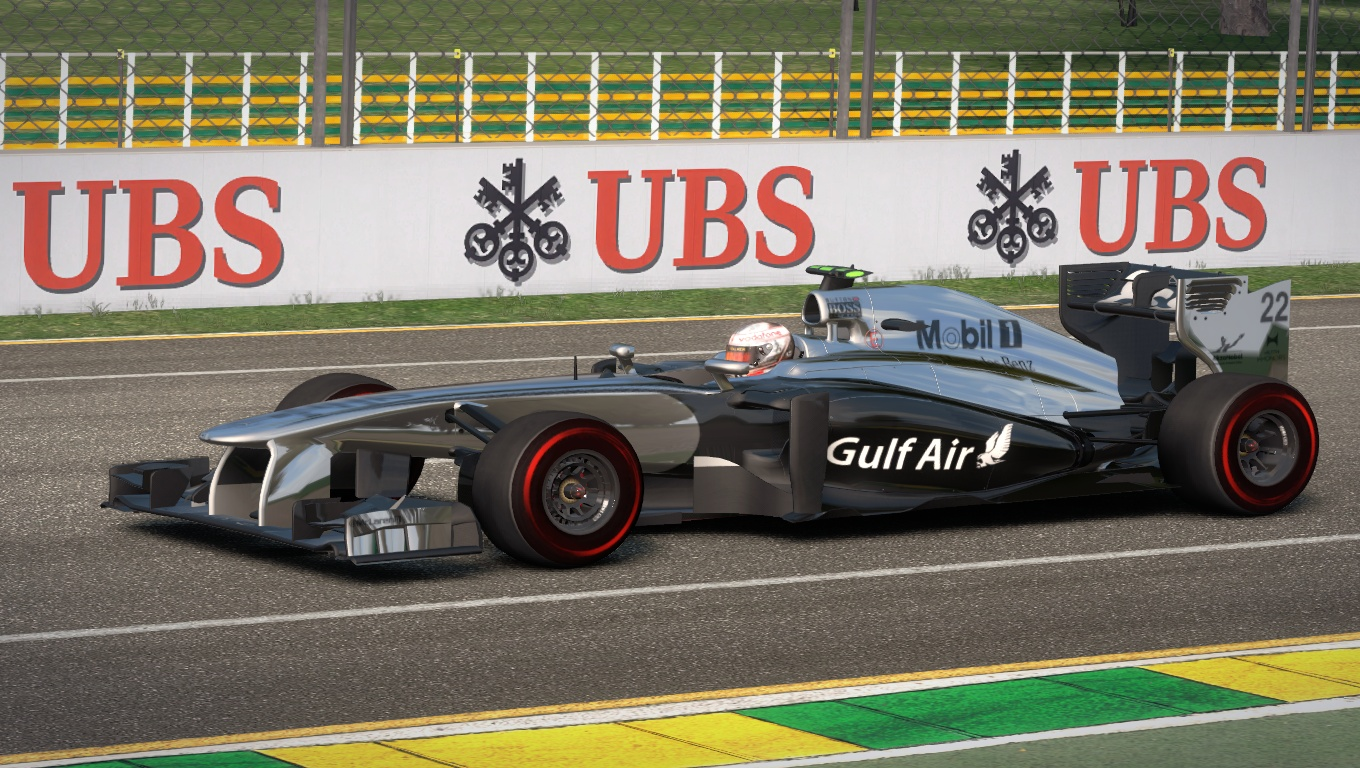McLaren MP4-29 2014 GP Bahrain Gulf Air By DanHerz 7