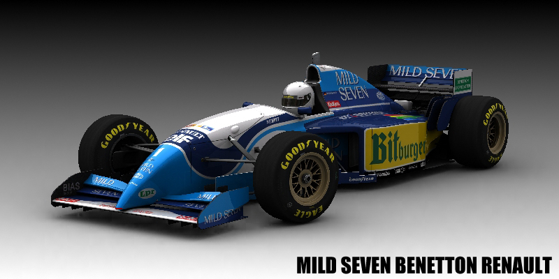 Mild Seven Benetton Renault