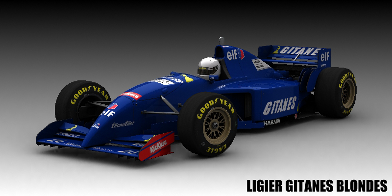 Ligier Gitanes Blondes