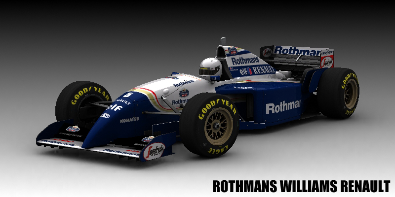 Rothmans Wiliams Renault