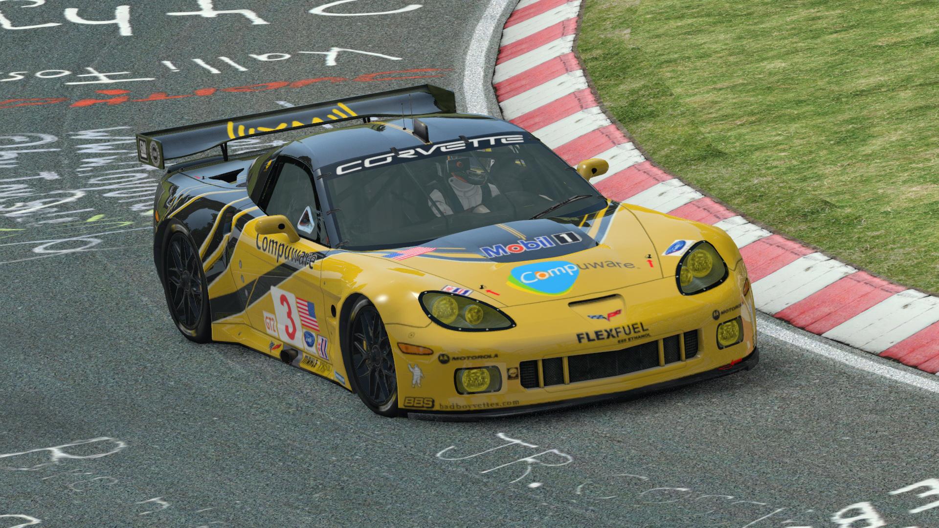 Corvette C6.R GT2 @ Nürburgring Nordschleife
