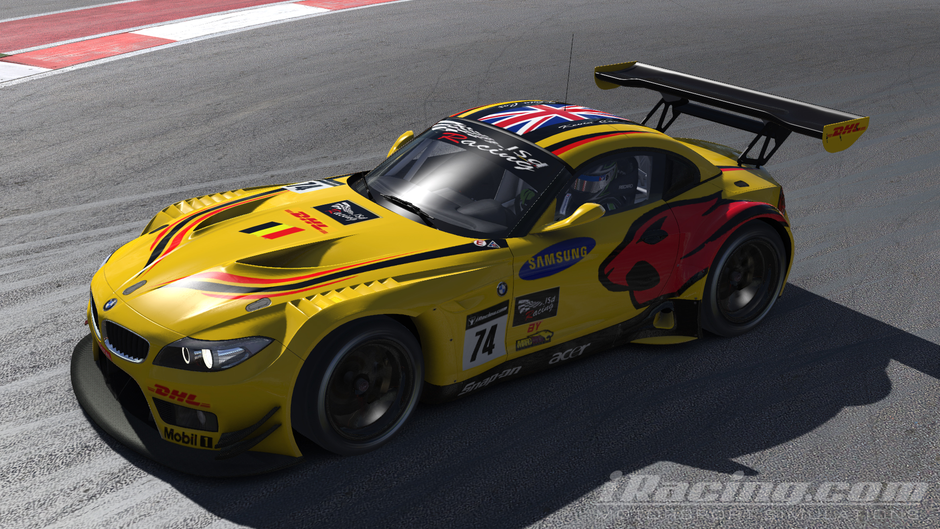 Photo Lsd Racing Bmw Z4 Gt3 In The Album Other Racing Games By
