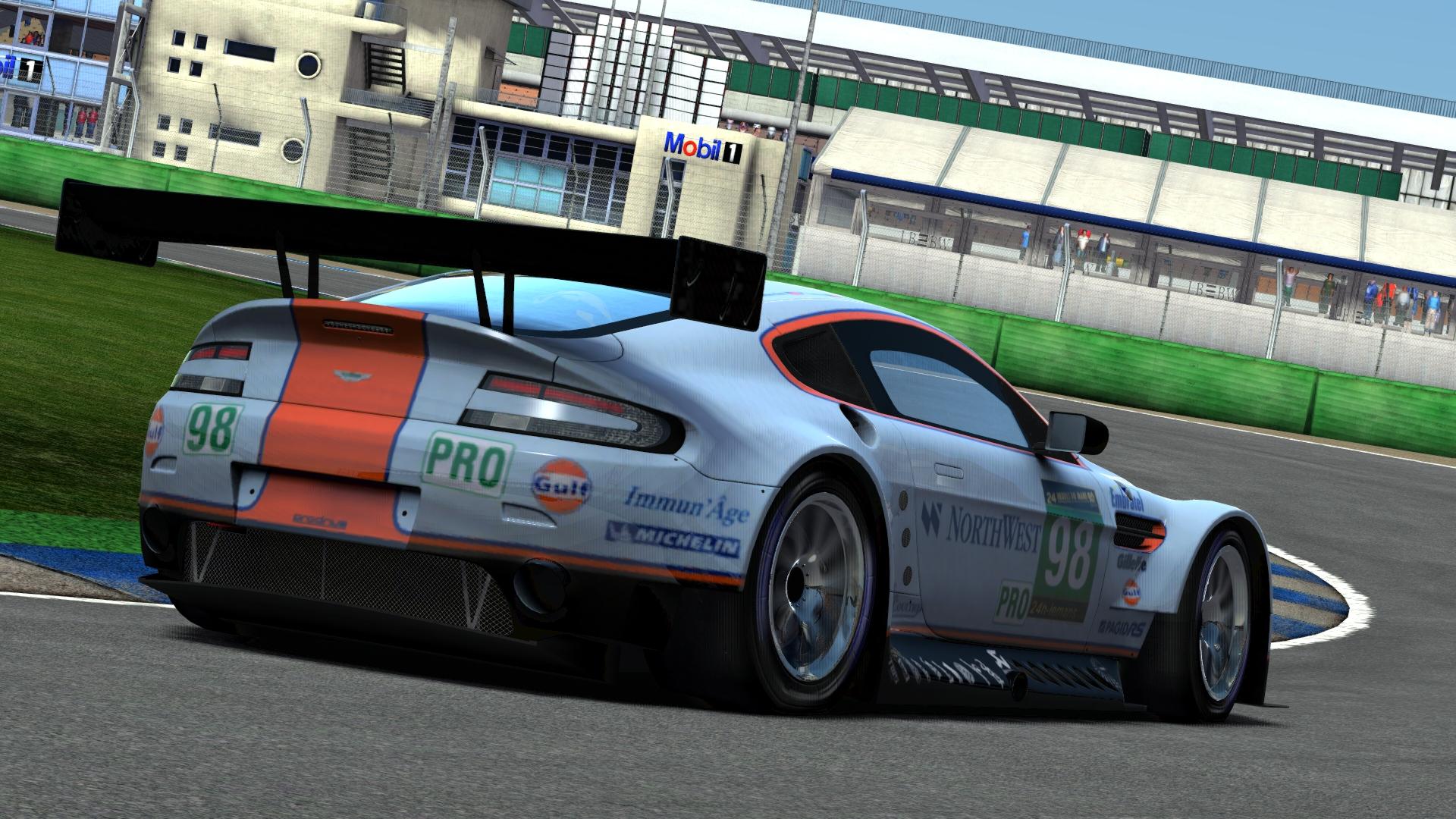 Vantage GT3 (AM EGT) @ Hockenheim