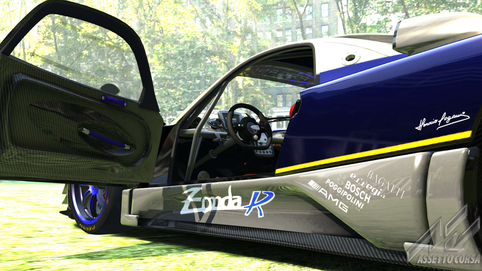 Zonda R - Midnight Blue MP Skin