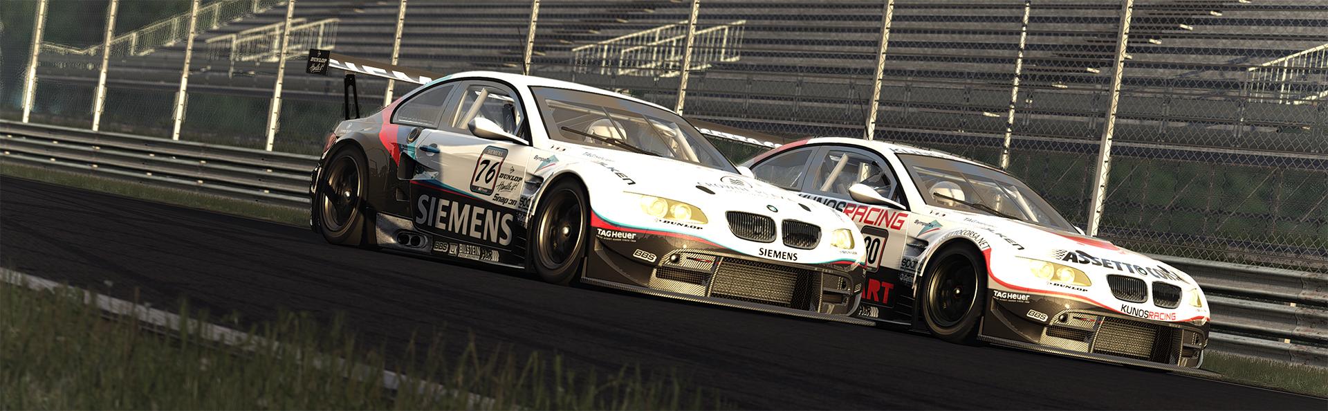 M3 GT2 racing