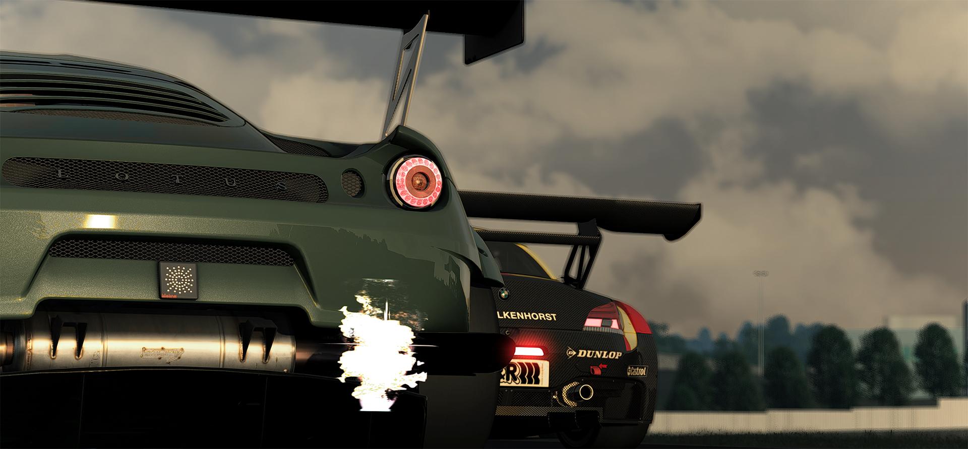 Evora GTE vs. Z4 GT3