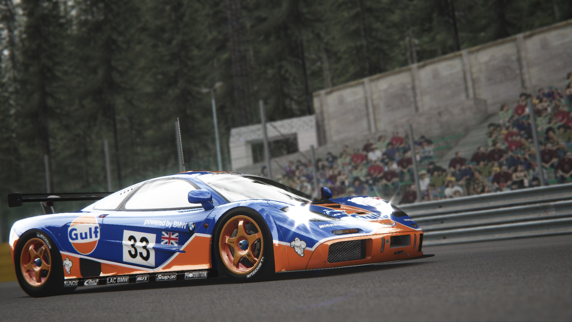 Assetto Corsa - McLaren F1 GTR Spa 01