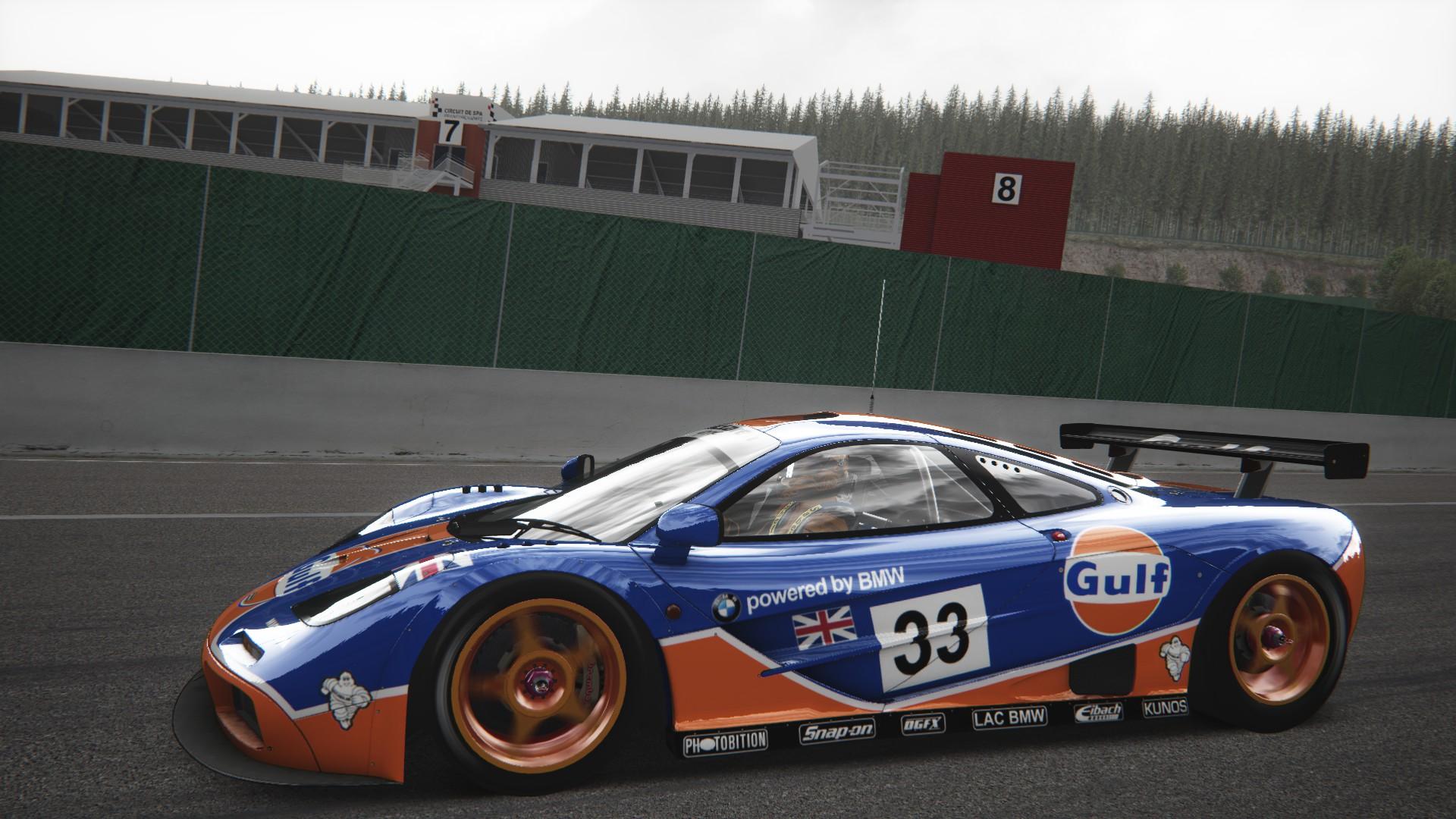 Assetto Corsa - McLaren F1 GTR Spa 07
