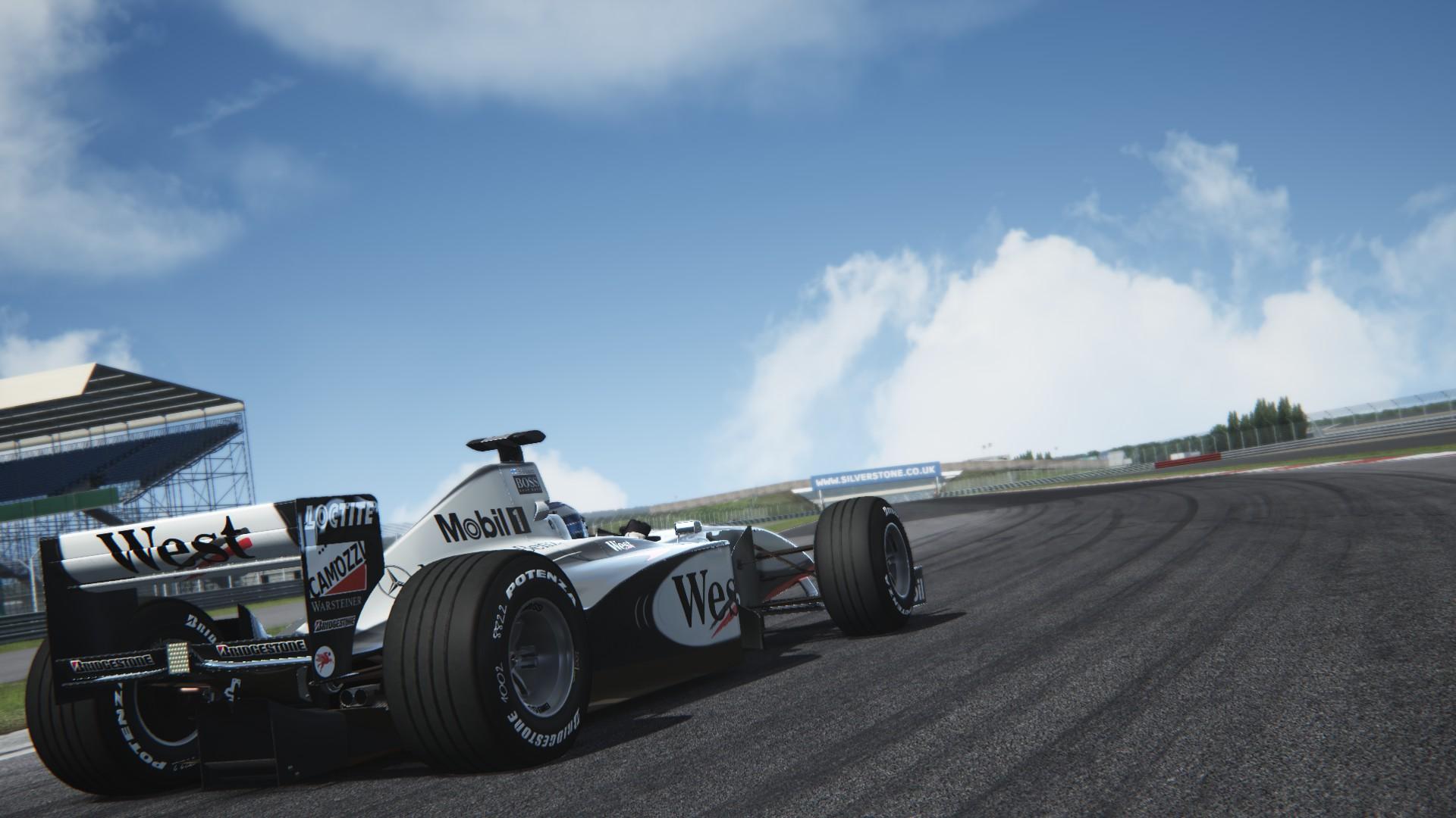 Assetto Corsa -  Mclaren mp4-13 by Virtua simulazioni Silverstone 01
