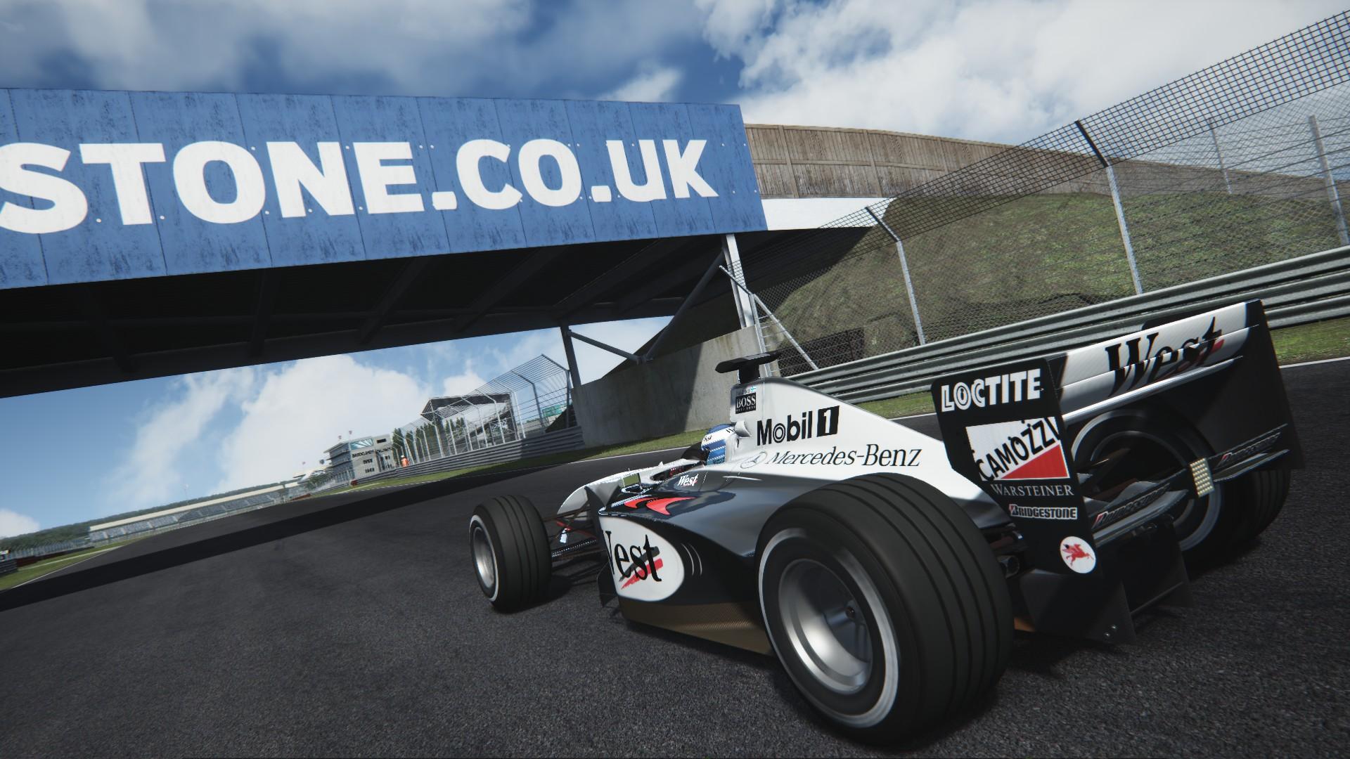 Assetto Corsa -  Mclaren mp4-13 by Virtua simulazioni Silverstone 02