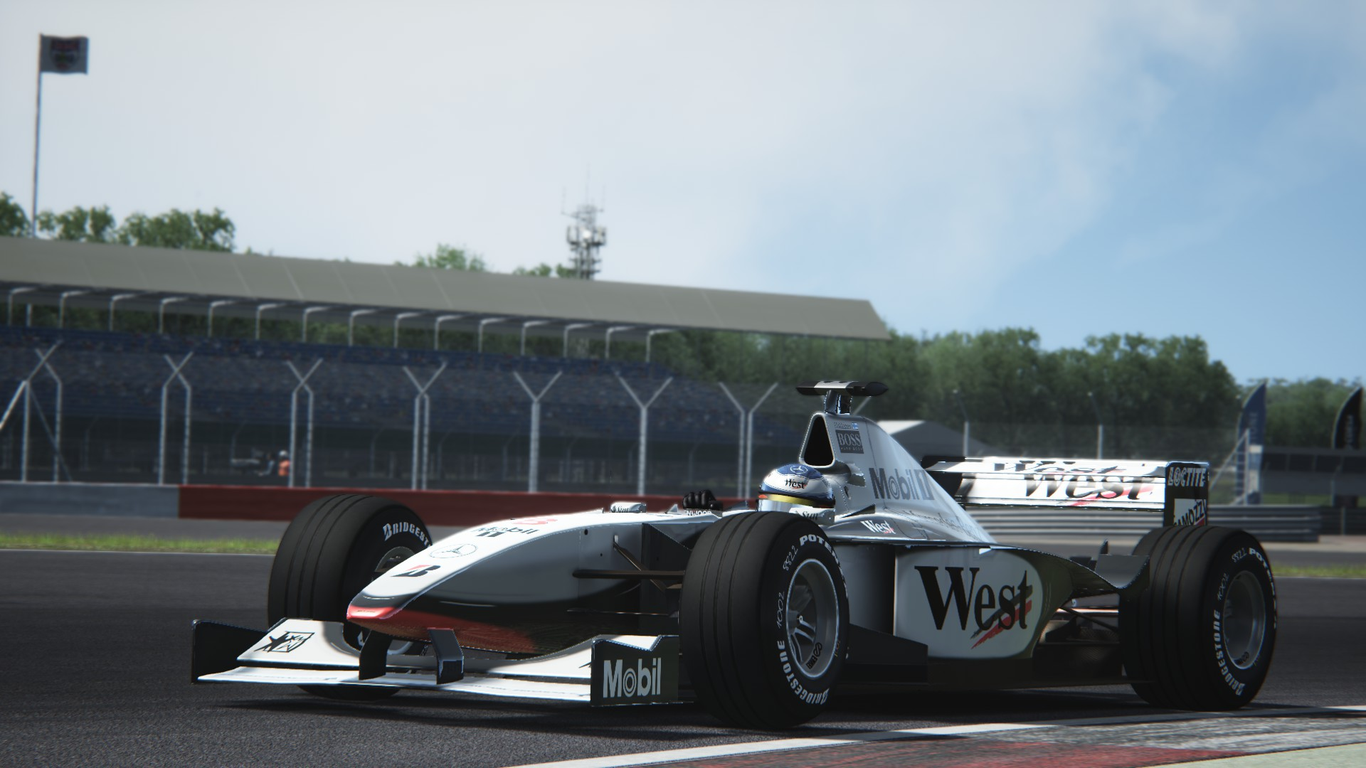 Assetto Corsa -  Mclaren mp4-13 by Virtua simulazioni Silverstone 03