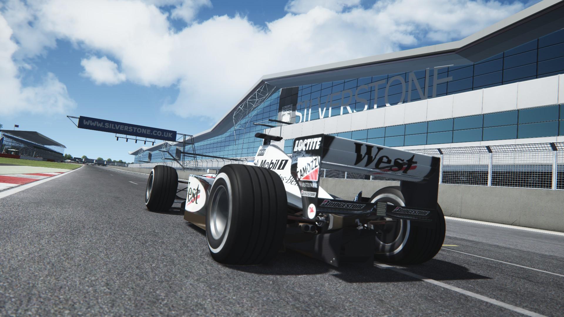 Assetto Corsa -  Mclaren mp4-13 by Virtua simulazioni Silverstone 05
