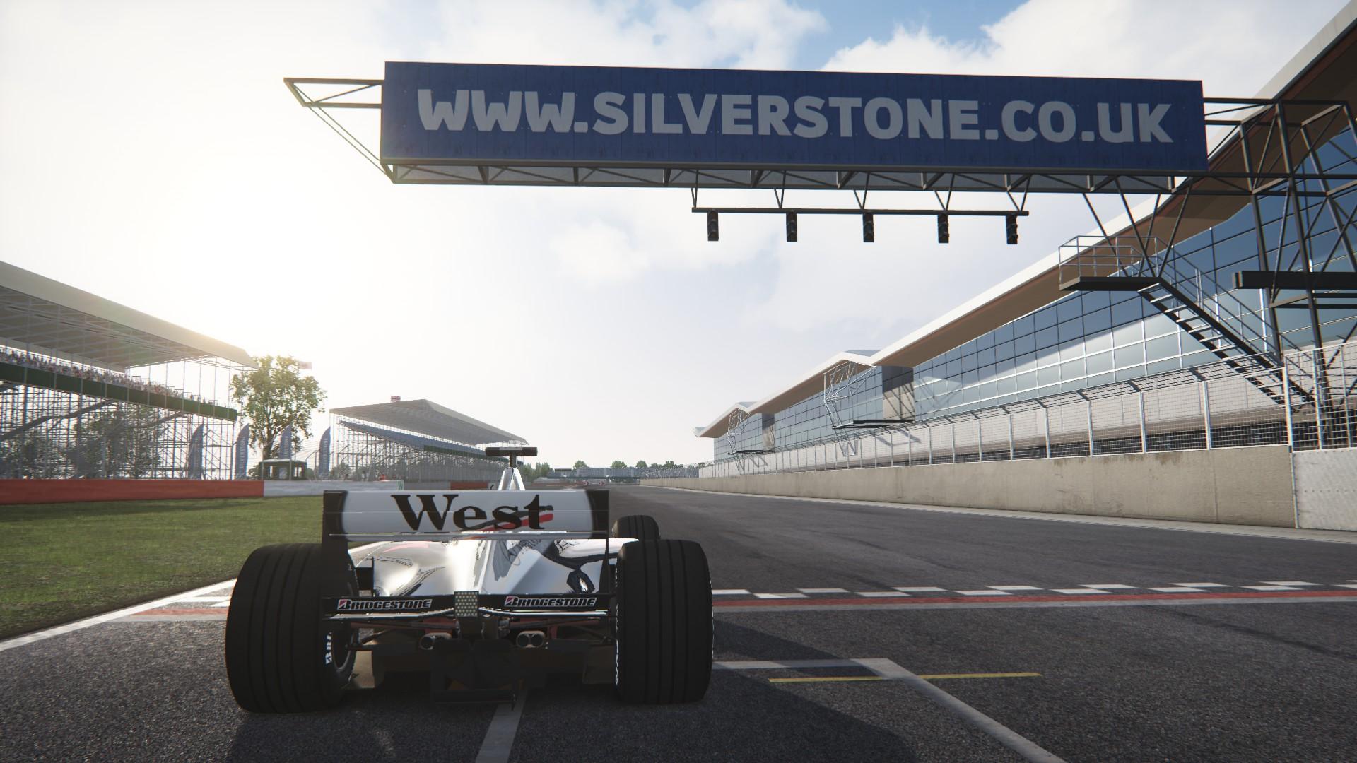 Assetto Corsa -  Mclaren mp4-13 by Virtua simulazioni Silverstone 06