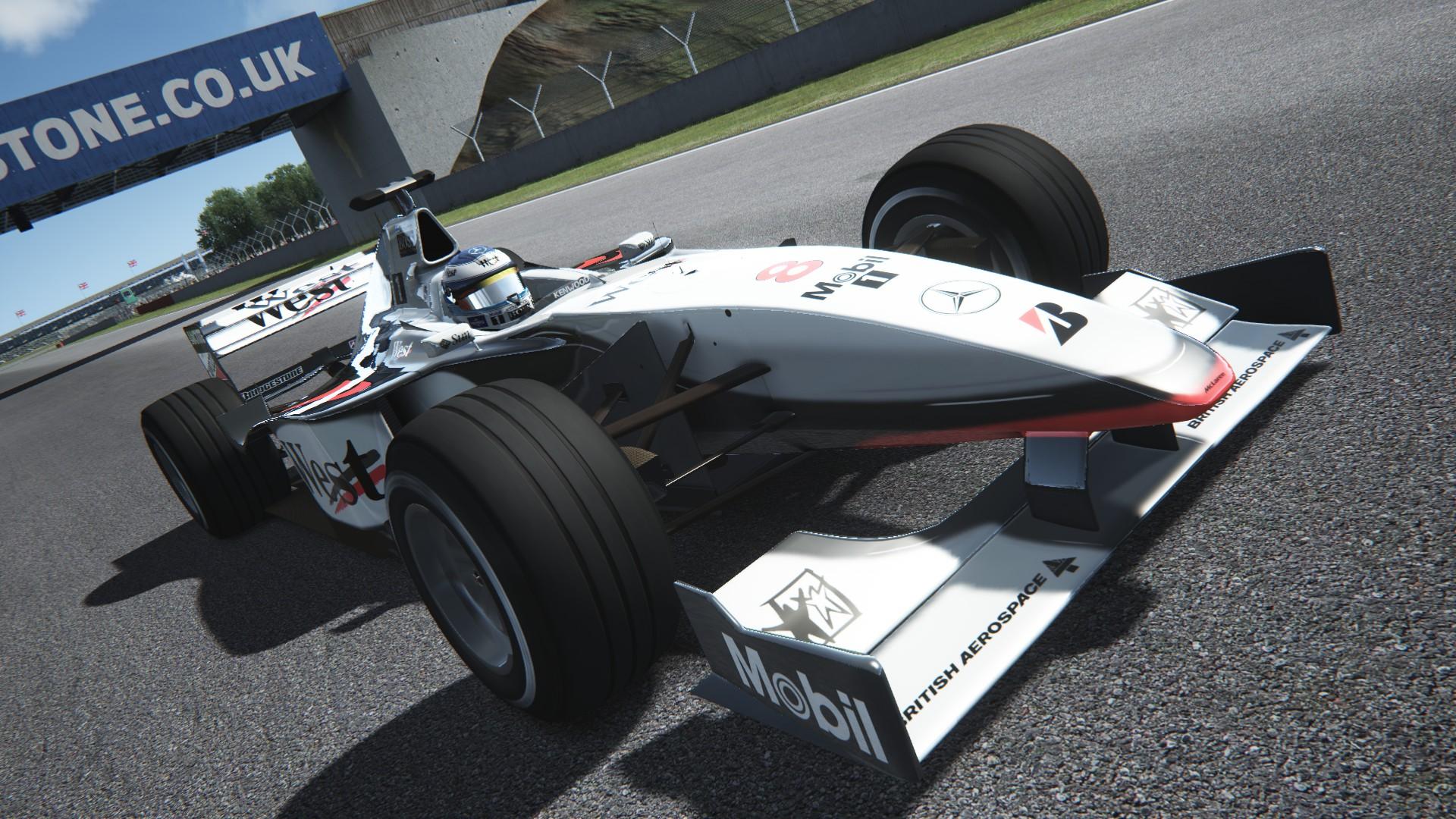 Assetto Corsa -  Mclaren mp4-13 by Virtua simulazioni Silverstone 07