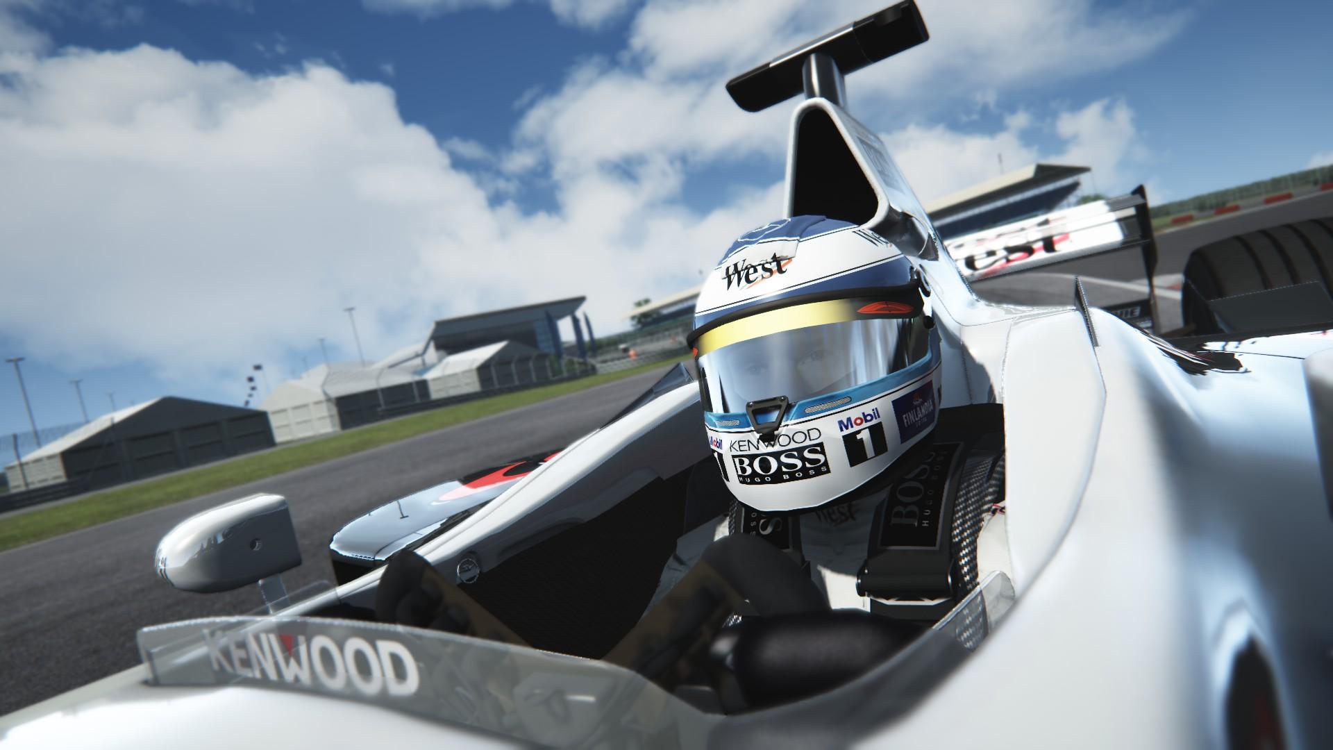 Assetto Corsa -  Mclaren mp4-13 by Virtua simulazioni Silverstone 08