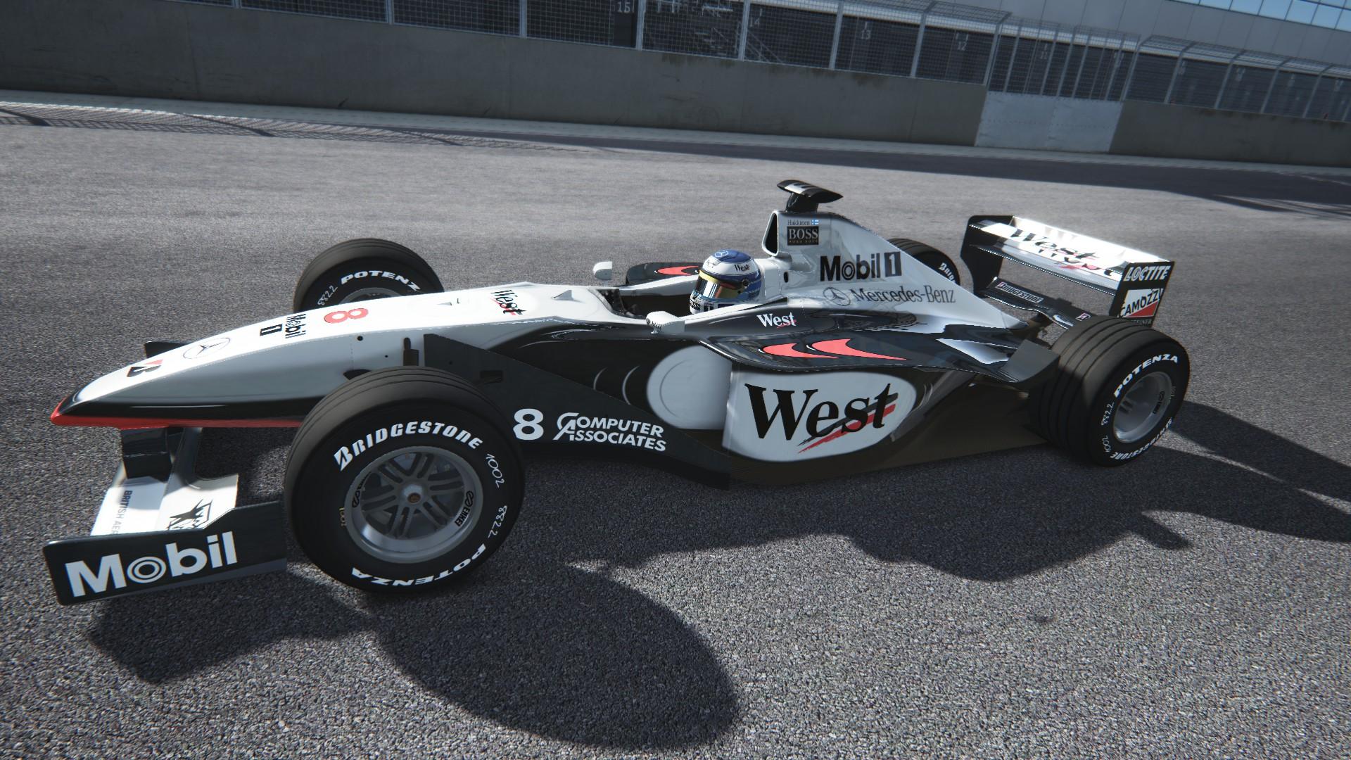 Assetto Corsa -  Mclaren mp4-13 by Virtua simulazioni Silverstone 09
