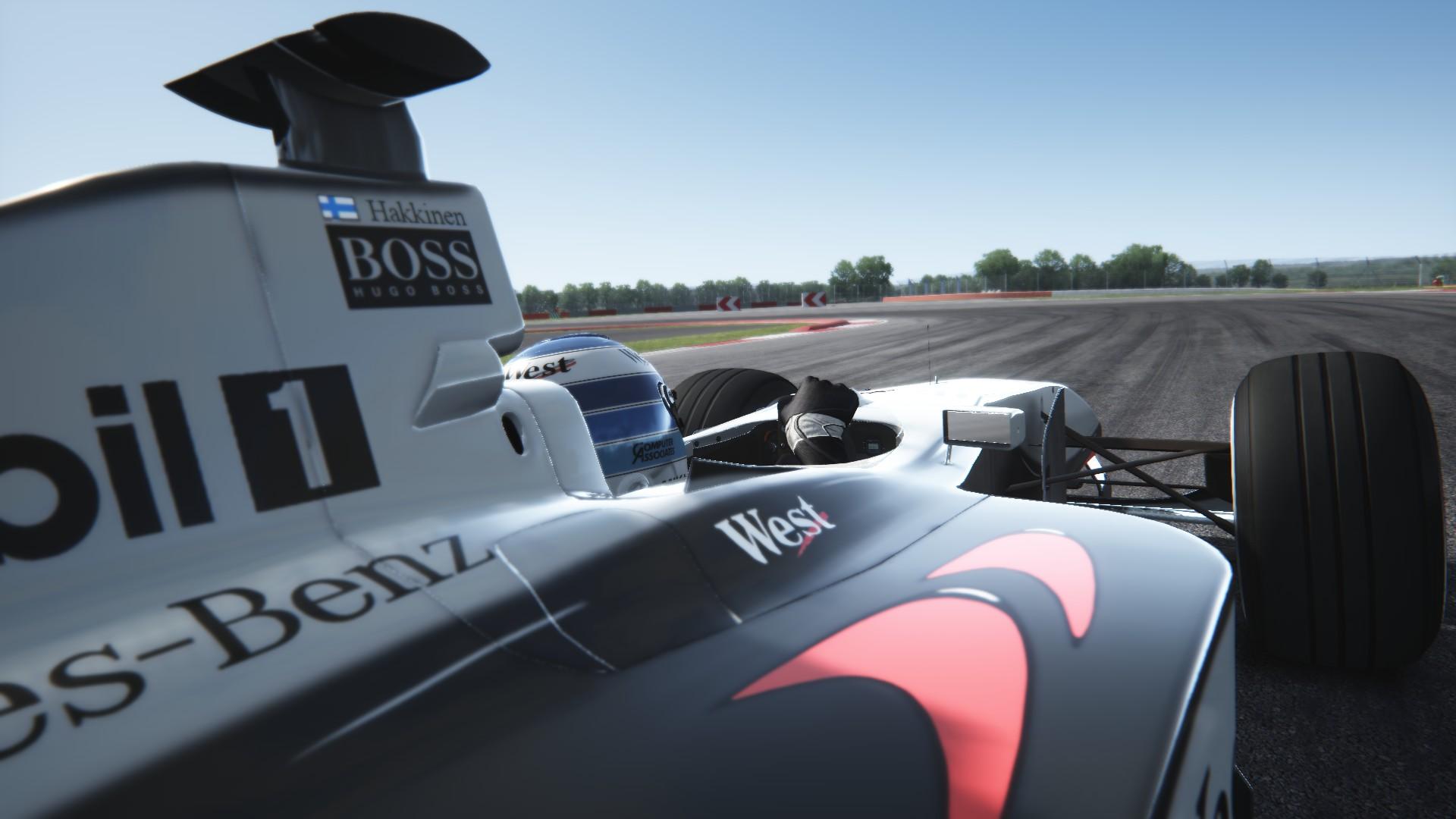 Assetto Corsa -  Mclaren mp4-13 by Virtua simulazioni Silverstone 10
