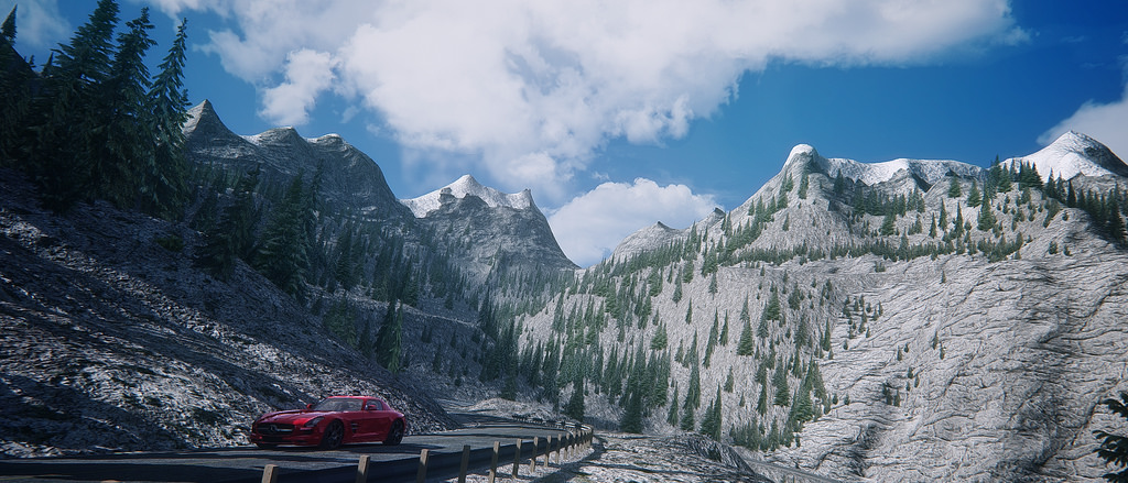 Assetto Corsa - Mercedes SLS Lake Louise 07