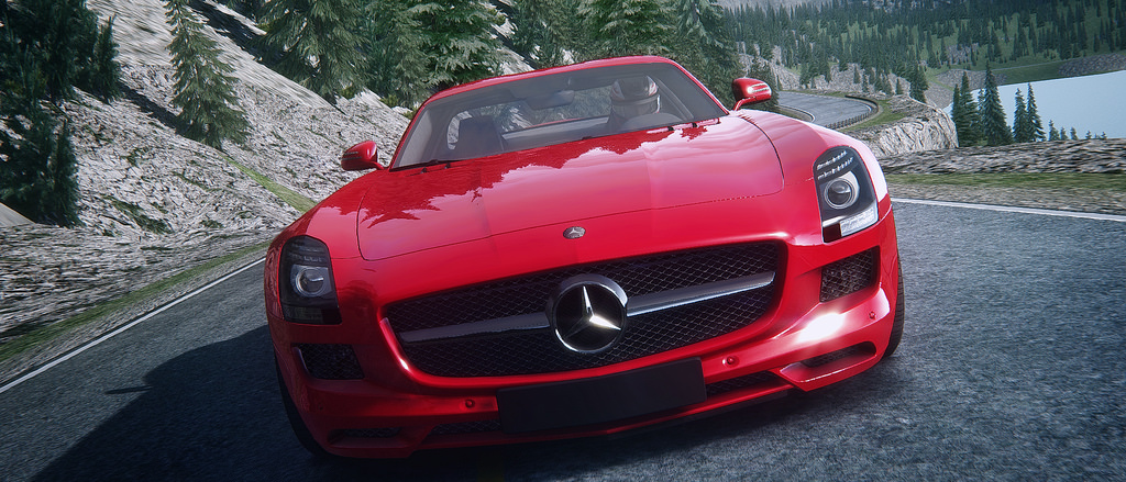 Assetto Corsa - Mercedes SLS Lake Louise 10