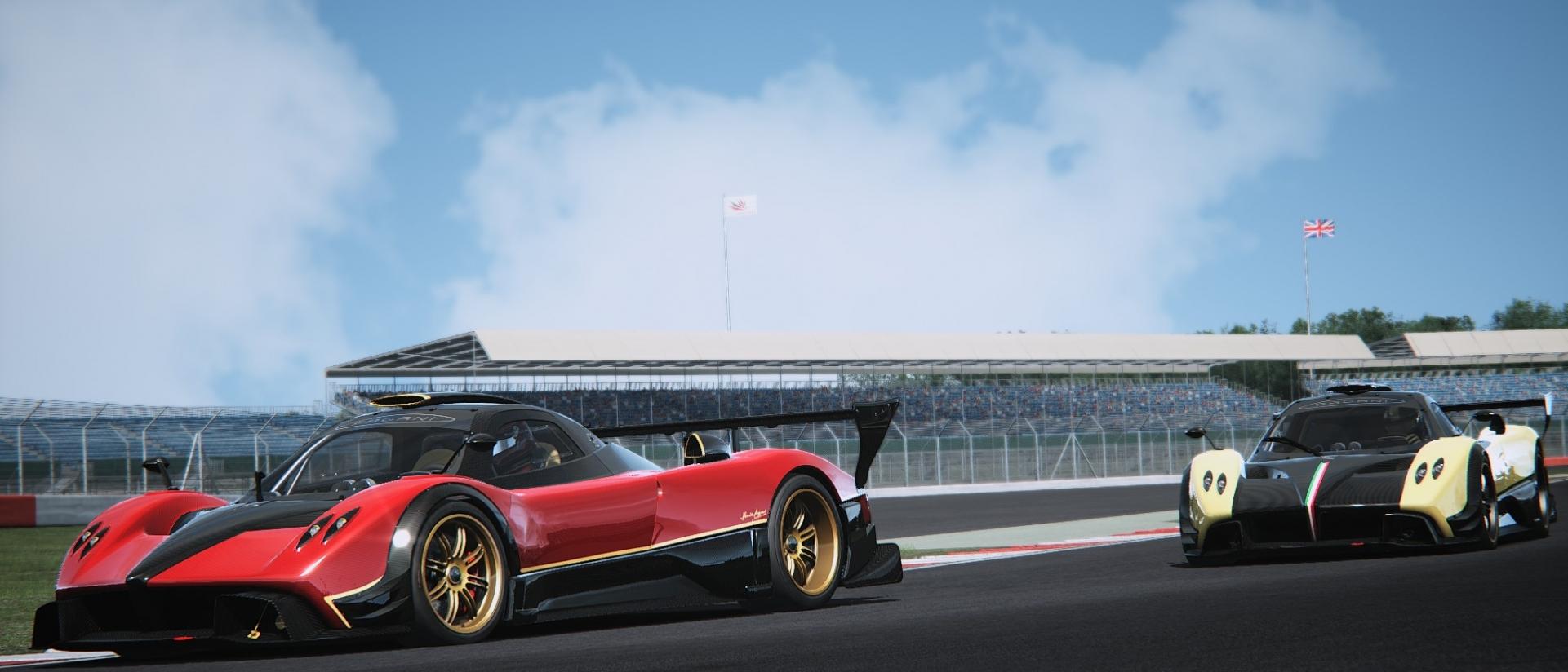 Assetto Corsa - Pagani Zonda Silverstone 02