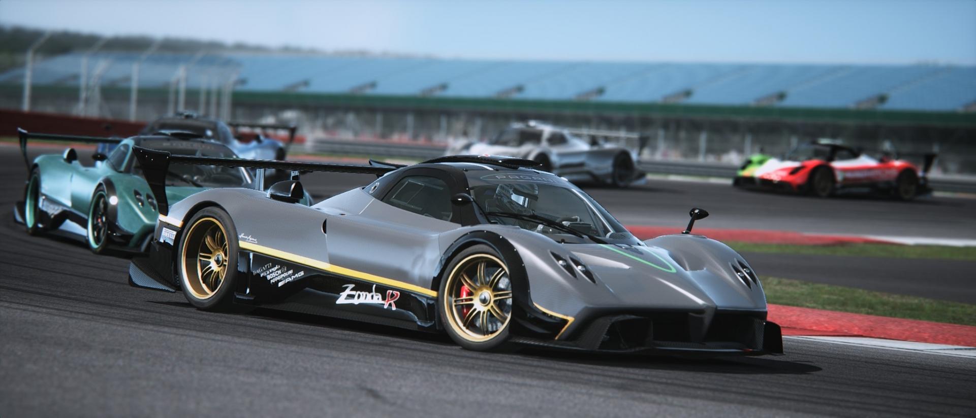 Assetto Corsa - Pagani Zonda Silverstone 03