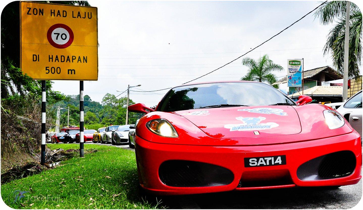 Grassroots Hillclimb Event in Bukit Putus, malaysia