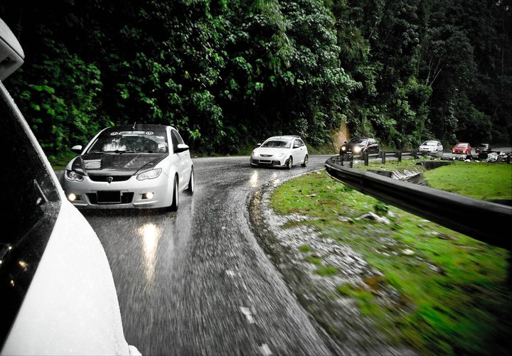 Proton Satria Neo Morning Touge