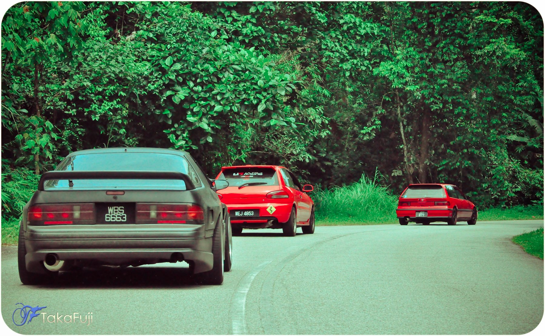 Sunday Morning Touge Drive in Malaysia