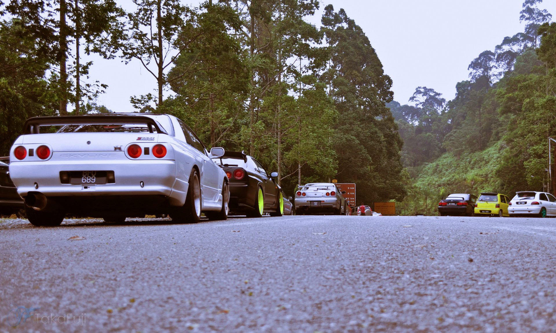 Bukit Putus Touge Meet the Gojira