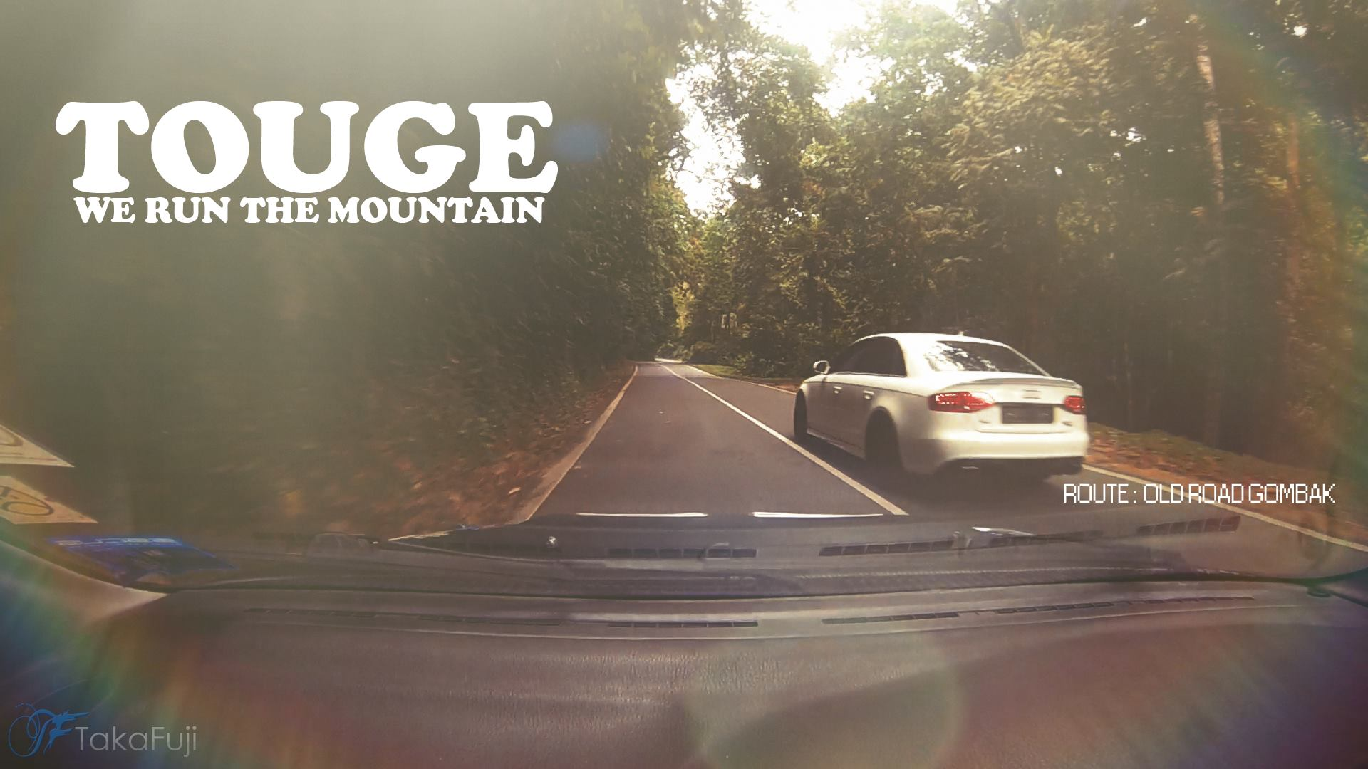 Touge Test Drive with Audi A4 Quattro