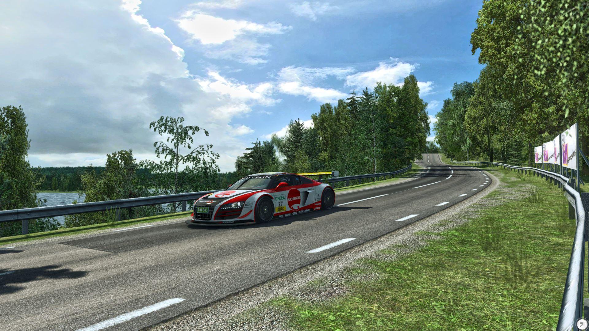 R3E Audi R8 LMS Hillclimb