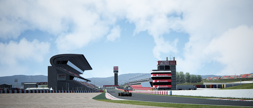 Assetto Corsa - ACFLIGUE MOD on Barcelona Track 04