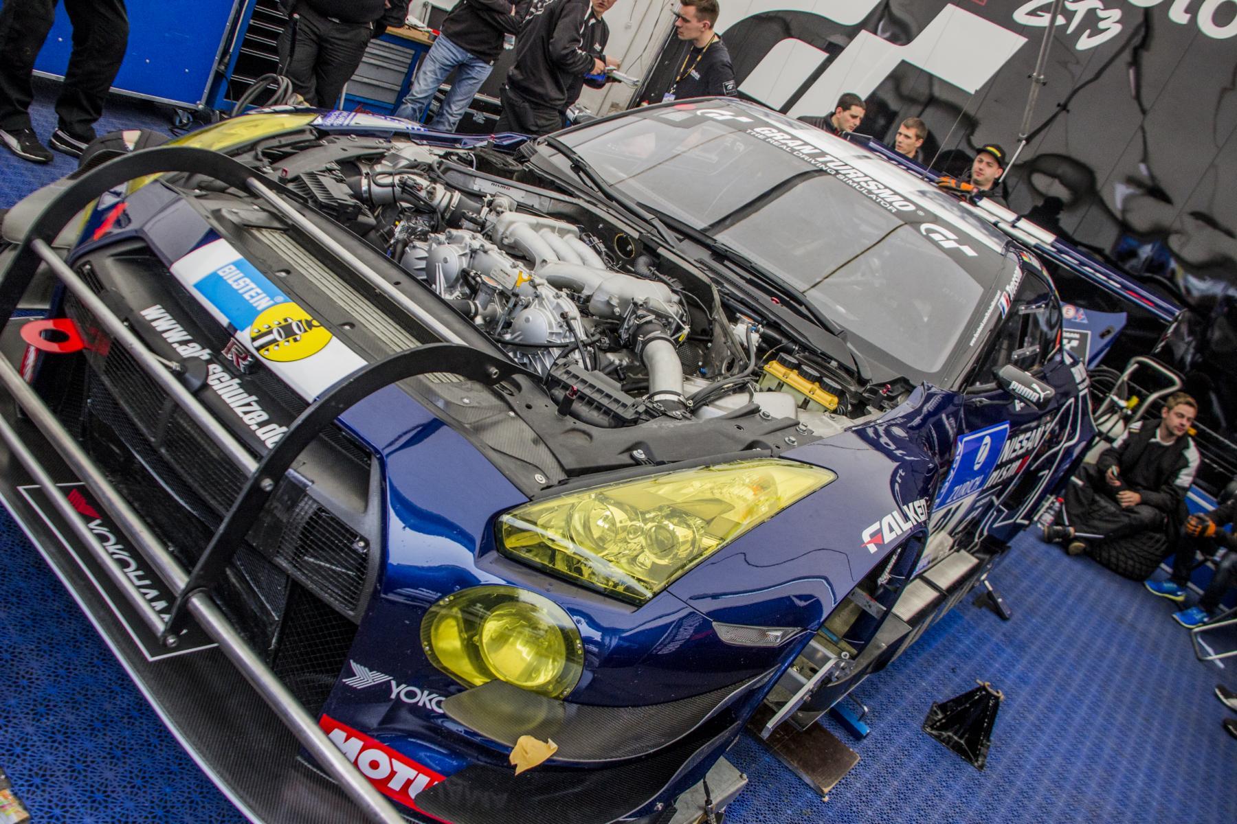 Nissan GTR @ ADAC 24H Nürburgring